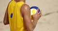 Beachvolley Player Royalty Free Stock Photos