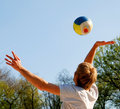 Beachvollyball Royalty Free Stock Photo