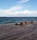 Beachwalk Стоковое Изображение RF