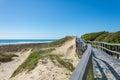 Beachwalk in Port Elisabeth, South Africa Royalty Free Stock Photo