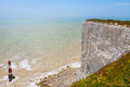 Beachy head east sussex england uk chalk cliff at near eastbourne Stock Photos