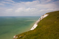 Beachy Head Lighthouse, Eastbourne, East Sussex, England Royalty Free Stock Photo