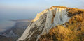 Beachy head uk england nature of the the strait of le mans the journey to misty landscape nature Stock Photos