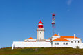 Beacon on cabo da roca portugal Stock Photography