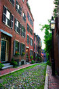 Beacon Hill, Boston Royalty Free Stock Images