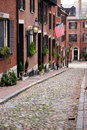 Beacon hill boston is a wealthy neighborhood of federal style rowhouses with some of the highest property values in the united Stock Photos