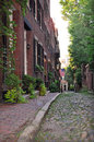 Beacon Hill, Historic Boston Street Stock Photo