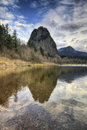 Beacon Rock State Park Stock Image