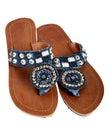 Beaded sandal Royalty Free Stock Photo