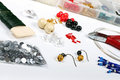 Beading workshop Stock Image