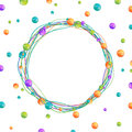 Beads Frame Royalty Free Stock Photo