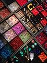 Beads for handicraft tibetan Royalty Free Stock Photos