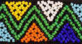 Beadwork africain Photos stock