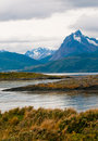 Beagle channel, Patagonia, Argentina Stock Photography