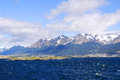 The Beagle Channel Royalty Free Stock Photo