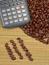 Bean Counter Royalty Free Stock Photo