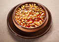 Bean dish Royalty Free Stock Photo