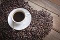 Beans coffee del caffè Immagini Stock Libere da Diritti