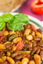 Beans fresh food made from Stock Images