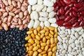 Beans mixture Royalty Free Stock Photo