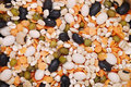 Beans and pulses Royalty Free Stock Images