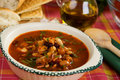 Beans soup Stock Images