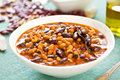 Beans soup [Bean stew ] Stock Images