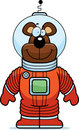 Bear Astronaut Royalty Free Stock Photography