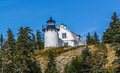 Bear Island Lighthouse, Maine Royalty Free Stock Photo