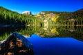 Bear Lake at Dawn Royalty Free Stock Photo