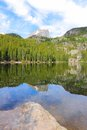 Bear Lake, Rocky Mountains Royalty Free Stock Photo