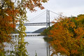 Bear Mountain Bridge View Royalty Free Stock Image