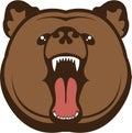Bear roar illustrations clip art vector eps Royalty Free Stock Photo