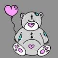 Bear Vector Toy Teddy Illustra...