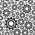 Bearing abstract pattern eps black Stock Images