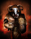 Beast Minotaur Stock Photography