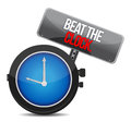 Beat the Clock concept Royalty Free Stock Images
