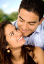 Beatiful couple in love Royalty Free Stock Photos