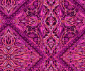 Beatiful seamless paisley placement pattern with flowers lace swirls borders jacobeans and other traditional folk elements in a Royalty Free Stock Photos