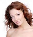 Beatiful woman face Royalty Free Stock Photo