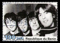 The Beatles Postage Stamp from Benin Royalty Free Stock Photo