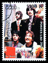 The Beatles Postage Stamp Royalty Free Stock Photo