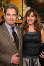 Beau bridges and wife wendy at the los angeles premiere of iron man mann s grauman chinese theatre hollywood ca Stock Photography