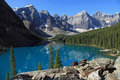 Beau lac moraine Images stock