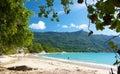 Beau Vallon beach 2 Royalty Free Stock Photo