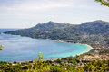 Beau vallon mahe seychelles bay on main island Stock Photo
