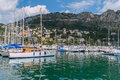 Beaulieu sur mer marina on the cote d azur Royalty Free Stock Image
