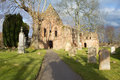 Beauly Priory, Scotland Stock Photos
