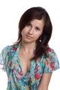 Beautifu young girl Royalty Free Stock Photo