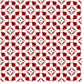Beautiful Abstract Ornamental Oriental Red Royal Vintage Arabic Chinese Floral Geometric Seamless Pattern Texture Wallpaper
